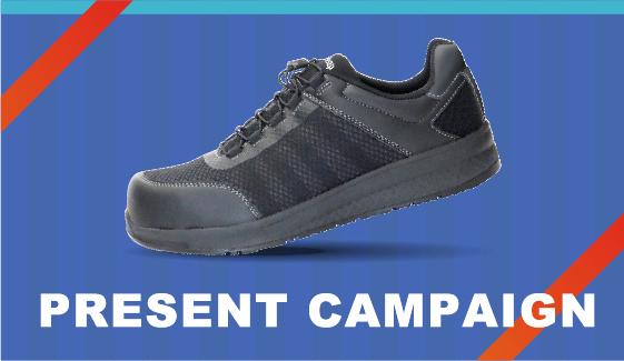 高反発作業靴(安全靴)クワンタムリープが当たるFacebookキャンペーン