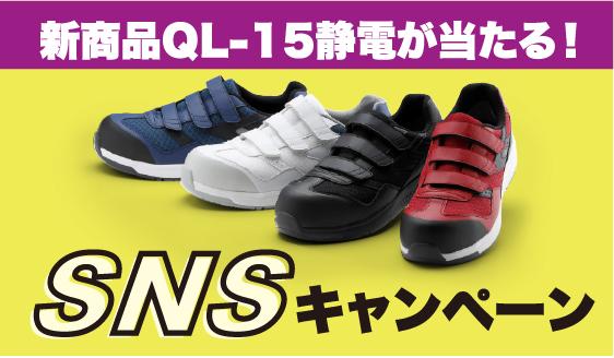 QL-15静電キャンペーン